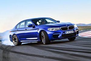 BMW M5 с 8-ступенчатым автоматом